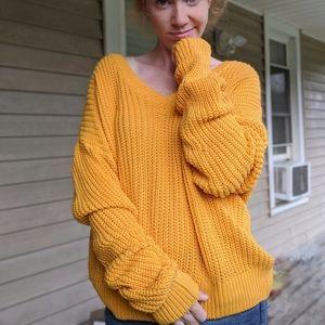 VS PINK   Forenza Oversized Boyfriend Sweater